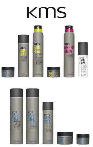 KMS produkter i forskellige serier