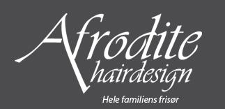 Afrodite Hairdesign  l   Enebærvej 12   l   5260 Odense S   l   tlf.: 66 11 71 90   l
